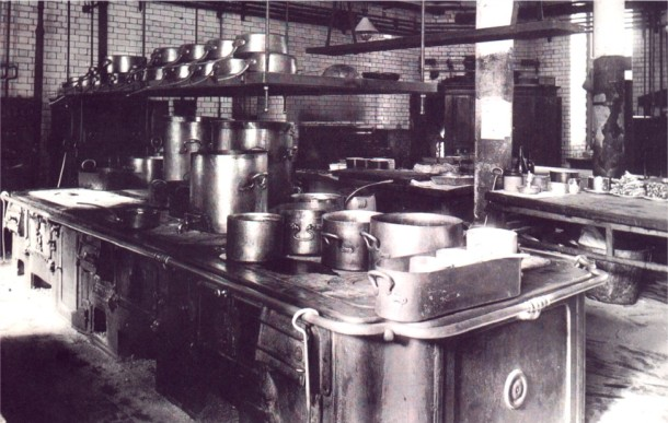 1893 Savoy Kitchen